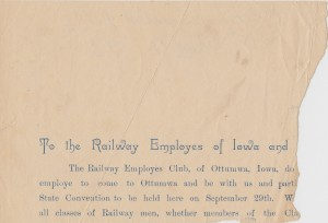 Murrell Family Bible-Ephemera_To the Railway Employees_1