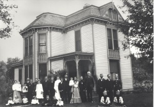 The John Roberts Family, 1904.
