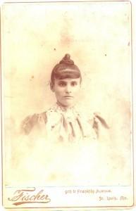 Sarah Green Golomb, possibly c1895.