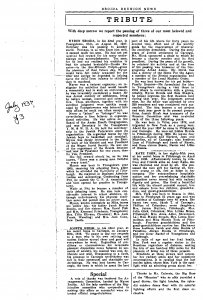 1938 Broida Reunion News, page 3. (Click to enlarge.)
