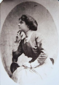 Elvira Kring, the only known photo of her.