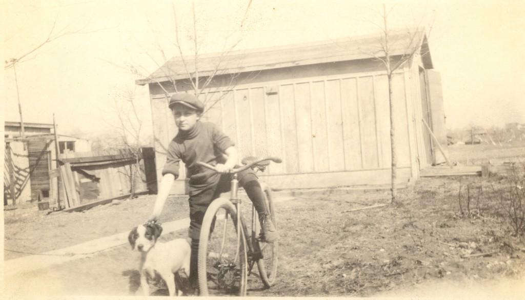 "Lloyd Eugene ""Gene"" Lee, age 12, 1920."
