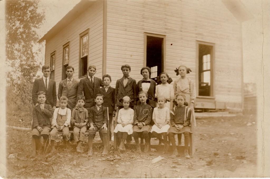 Big Four School in Marquand, Missouri, c?