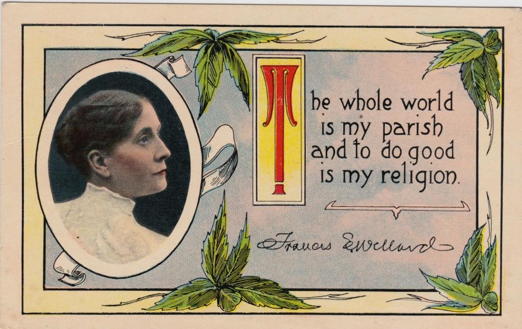 Frances Willard Postcard