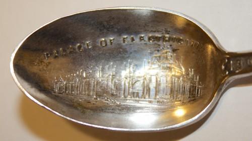 1904 Louisiana Exposition Souvenir- Spoons