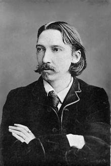 Robert Louis Stevenson, via Wikipedia.com.