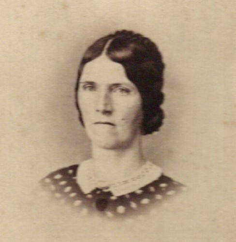 Charlotte Peters Baker, courtesy Marion County [Ohio] Historical Society. (Click to enlarge.)