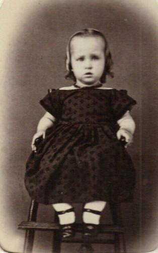 Ella Baker, most likely Tacey Viella Baker, b. 1864. Courtesy Marion County [Ohio] Historical Society. (Click to enlarge.)