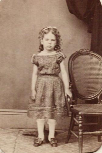 Jessie Amanda Baker, b. 1862, courtesy Marion County [Ohio] Historical Society. (Click to enlarge.)