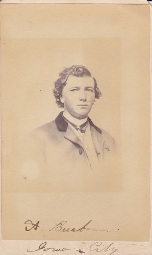 A. Beerbower, Iowa City, Iowa photographer.
