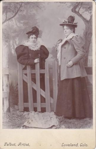 Susie Talbot Knapp and Carrie McDermott
