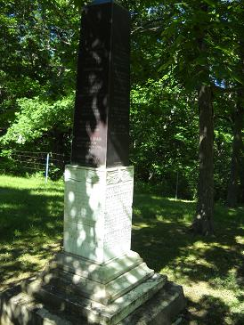 Henry C. Christie, military monument, in Evans Cemetery, Monroe County, Iowa. Posted from Find A Grave with kind permission of photographer.