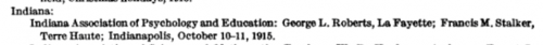 1915- Educational Associations- George L. Roberts.